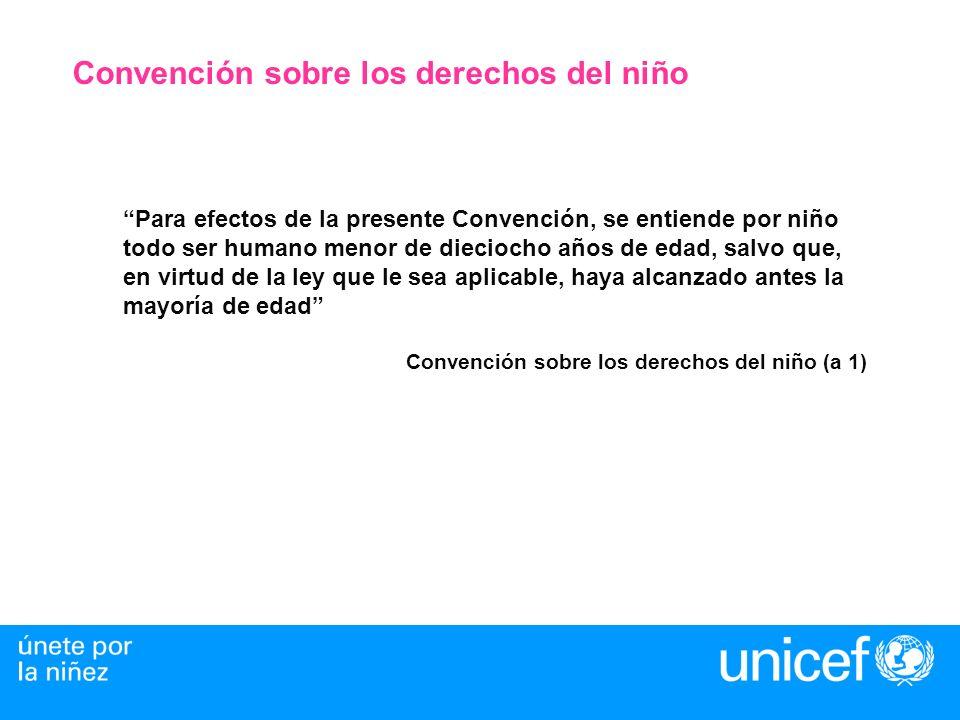 Convención sobre los derechos del niño