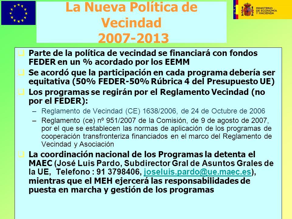 La Nueva Política de Vecindad 2007-2013