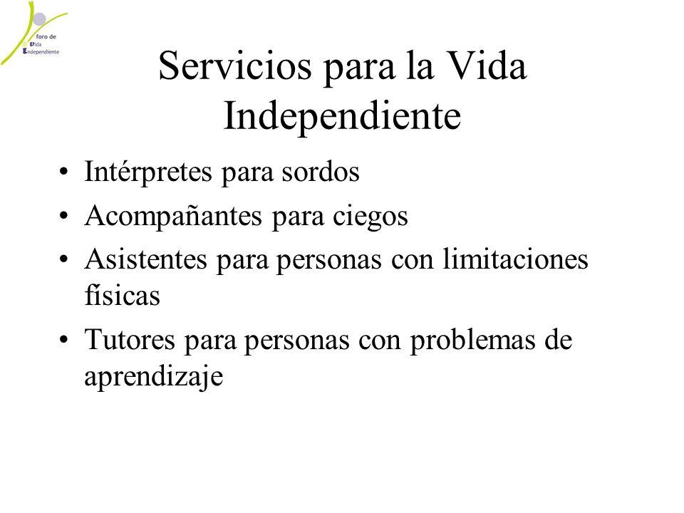 Servicios para la Vida Independiente