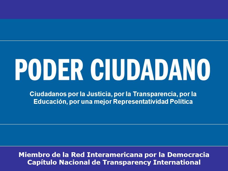 Ciudadanos por la Justicia, por la Transparencia, por la