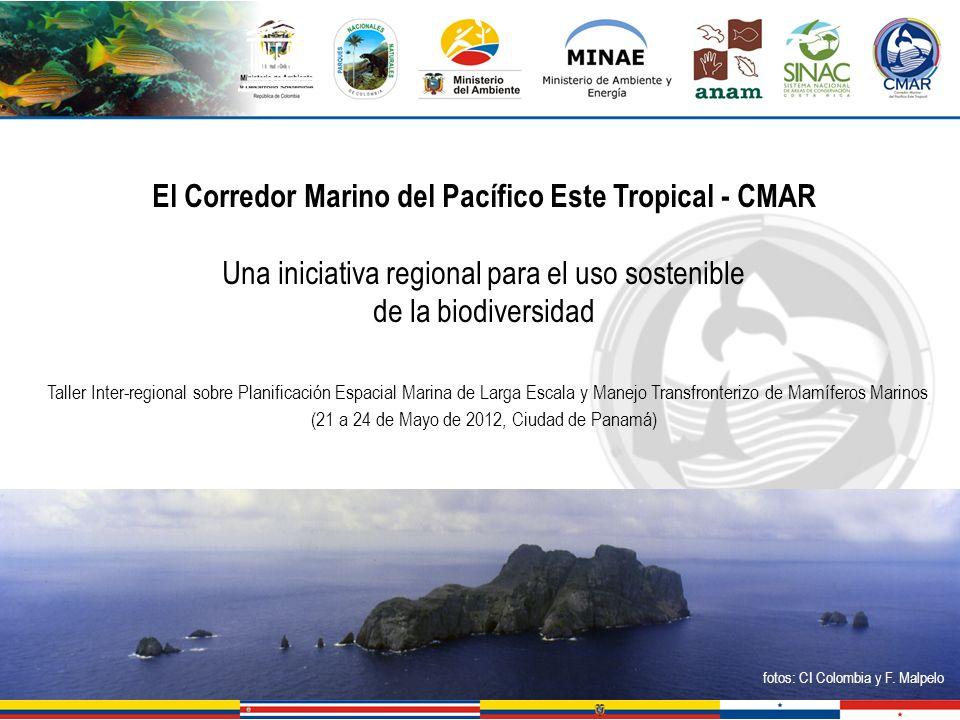 El Corredor Marino del Pacífico Este Tropical - CMAR