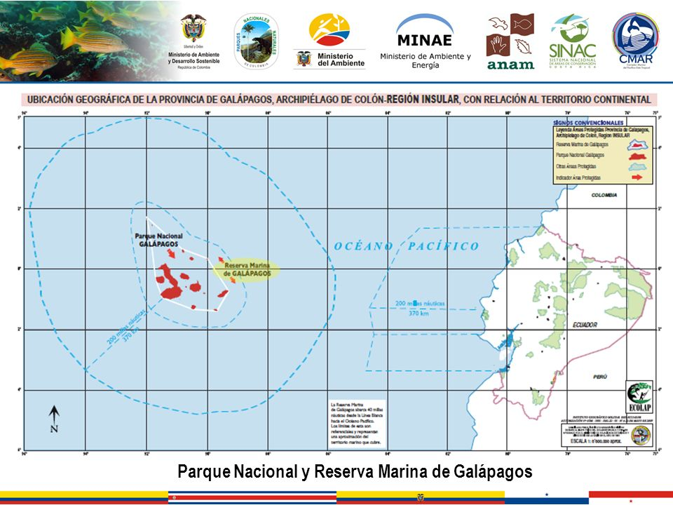 Parque Nacional y Reserva Marina de Galápagos