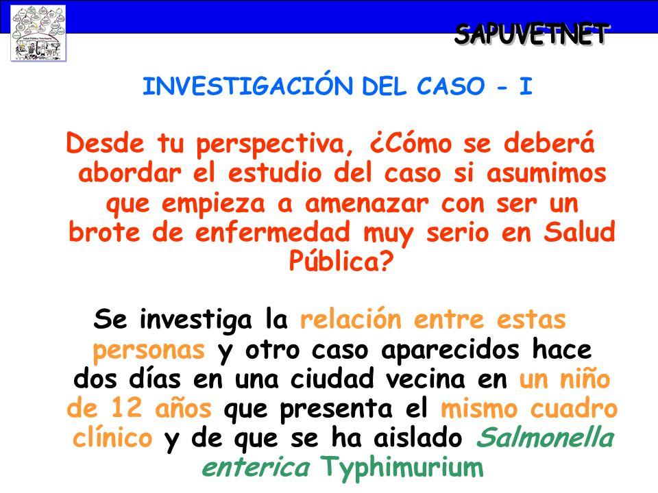 INVESTIGACIÓN DEL CASO - I