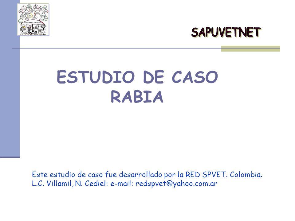 ESTUDIO DE CASO RABIA SAPUVETNET