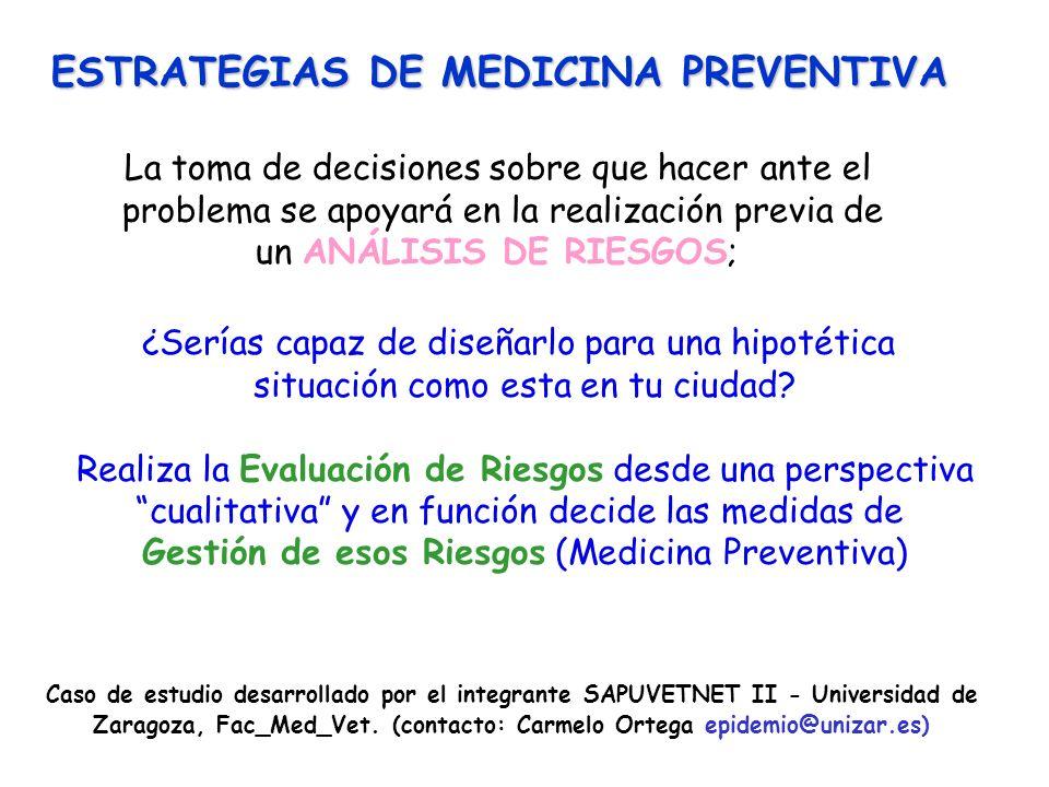 ESTRATEGIAS DE MEDICINA PREVENTIVA
