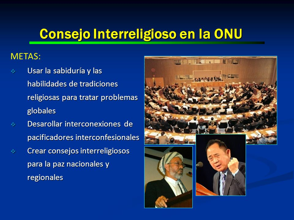 Consejo Interreligioso en la ONU