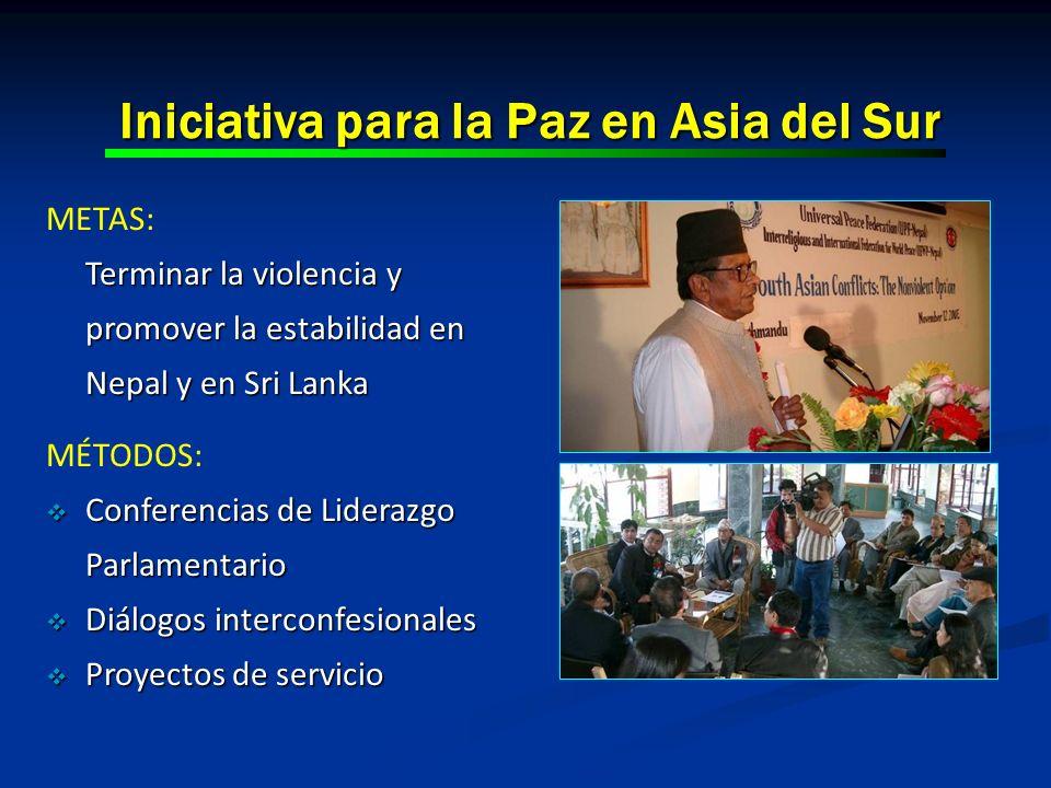 Iniciativa para la Paz en Asia del Sur