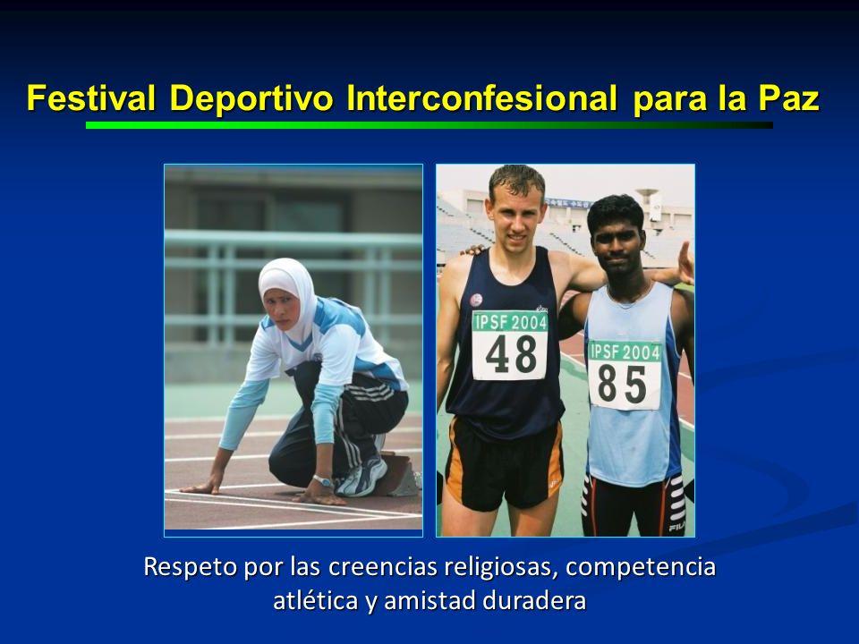 Festival Deportivo Interconfesional para la Paz