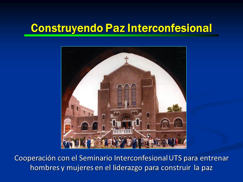Construyendo Paz Interconfesional