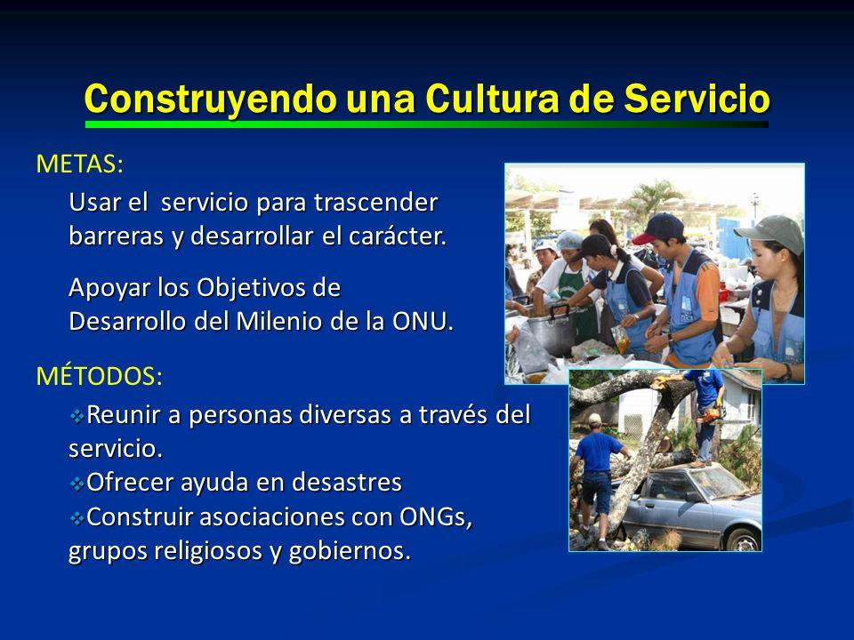 Construyendo una Cultura de Servicio