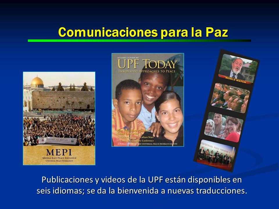 Comunicaciones para la Paz