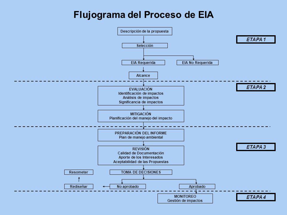 Flujograma del Proceso de EIA