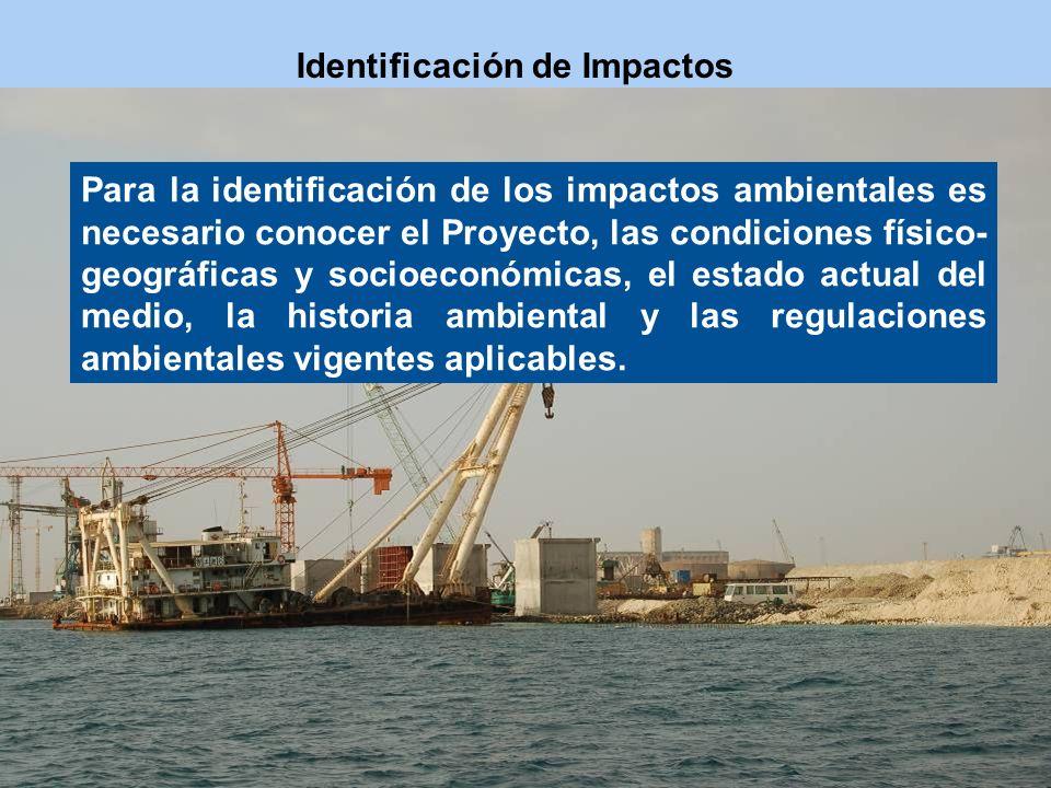 Identificación de Impactos