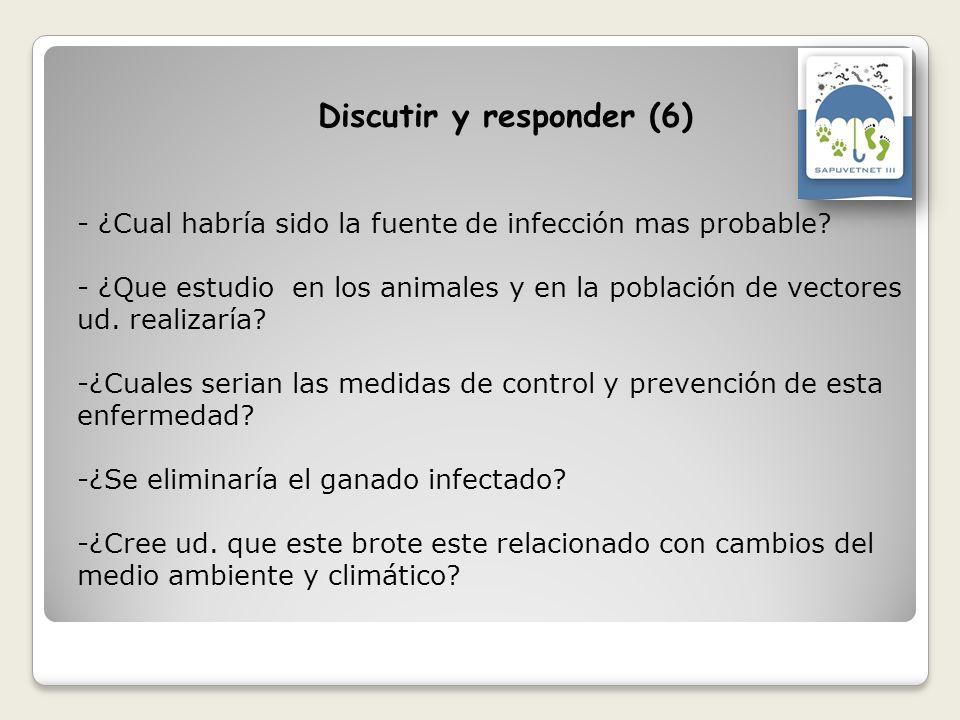 Discutir y responder (6)