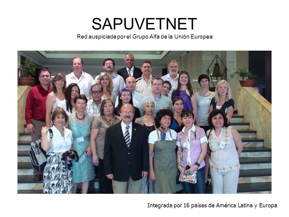 SAPUVETNET Red auspiciada por el Grupo Alfa de la Unión Europea
