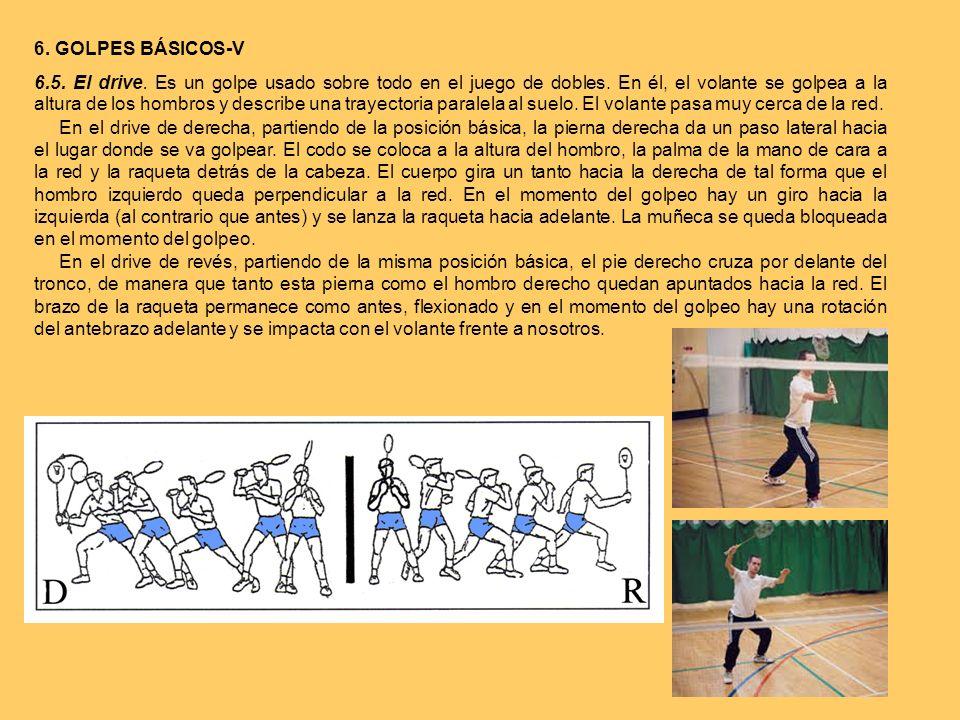 6. GOLPES BÁSICOS-V