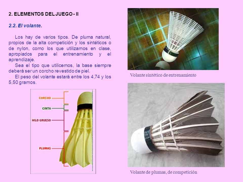 2. ELEMENTOS DEL JUEGO - II