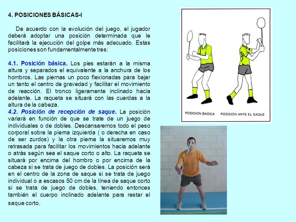 4. POSICIONES BÁSICAS-I