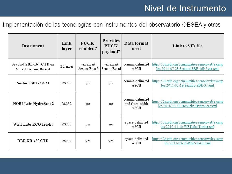Seabird SBE-16+ CTD on Smart Sensor Board