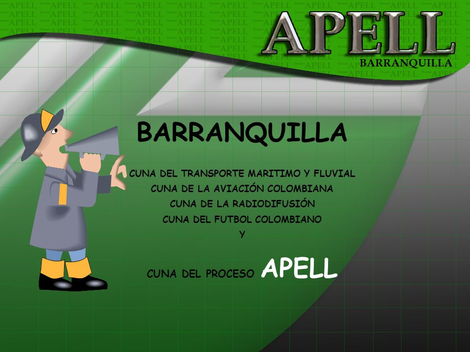 BARRANQUILLA CUNA DEL PROCESO APELL