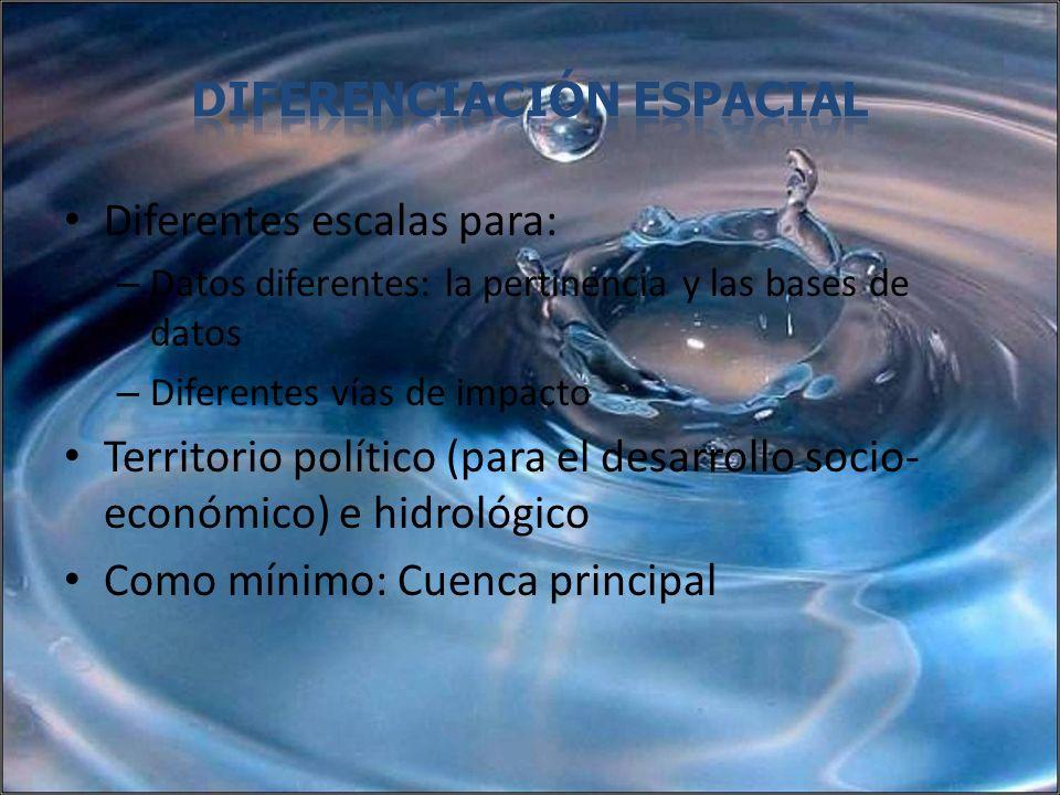 diferenciación espacial