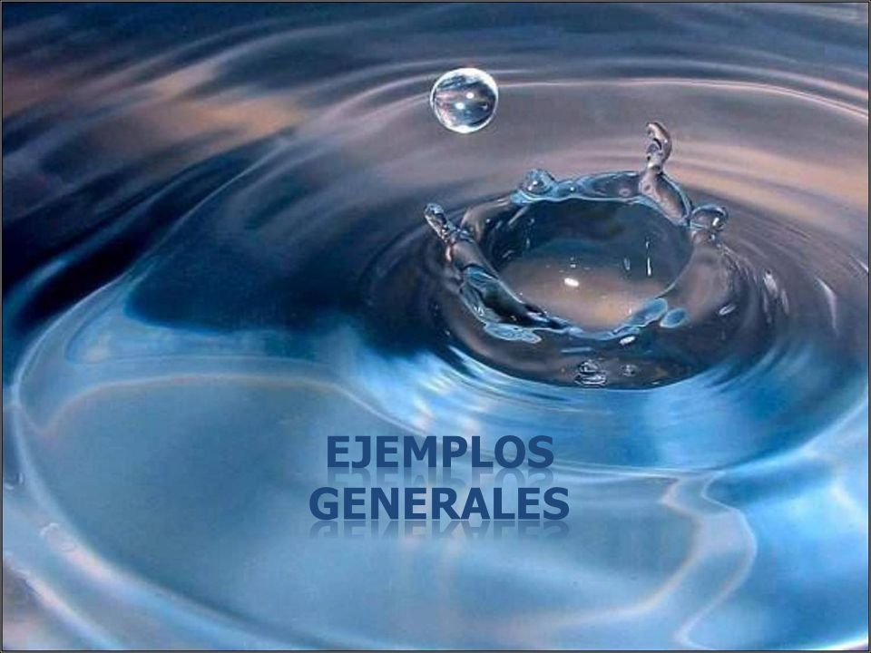 Ejemplos Generales