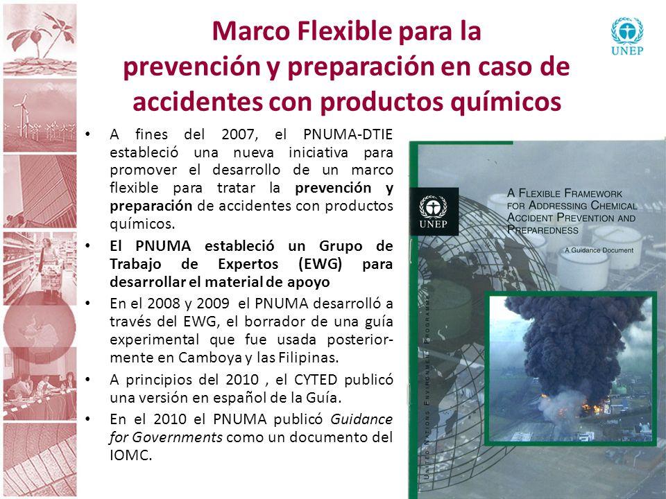 Marco Flexible para la prevención y preparación en caso de accidentes con productos químicos