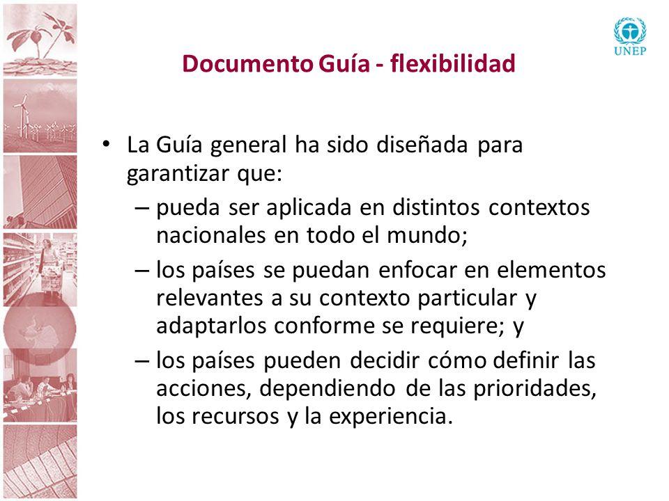 Documento Guía - flexibilidad
