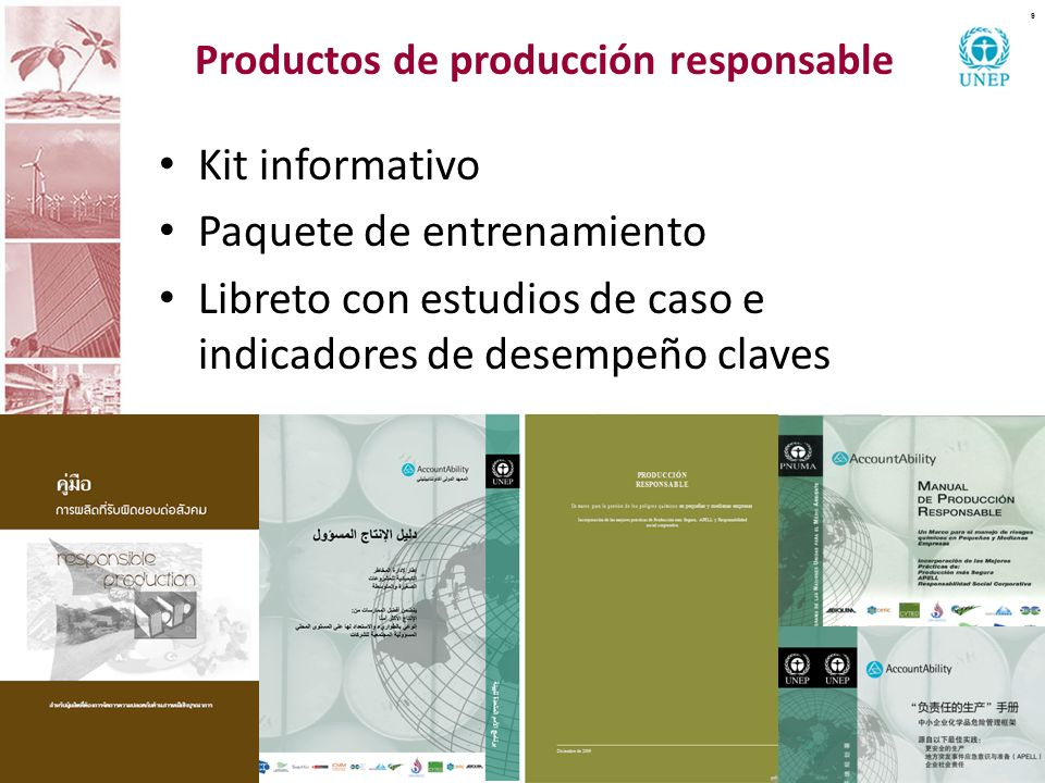 Productos de producción responsable