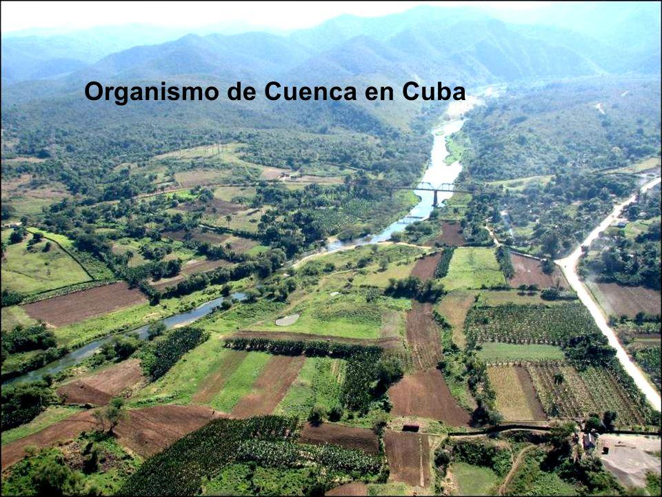 Organismo de Cuenca en Cuba