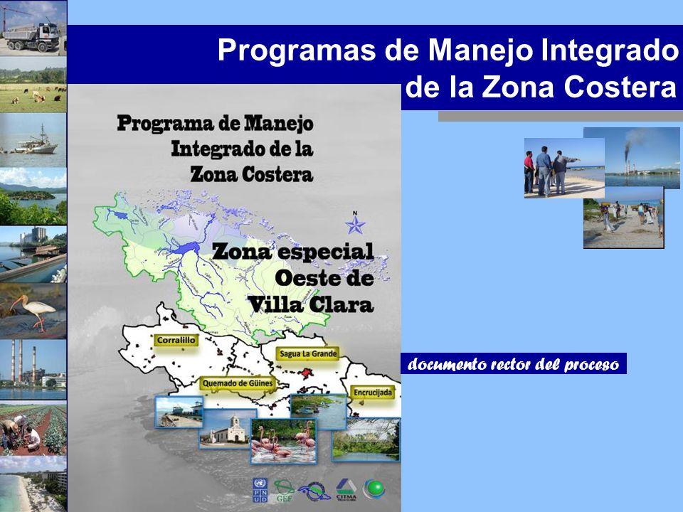 Programas de Manejo Integrado de la Zona Costera