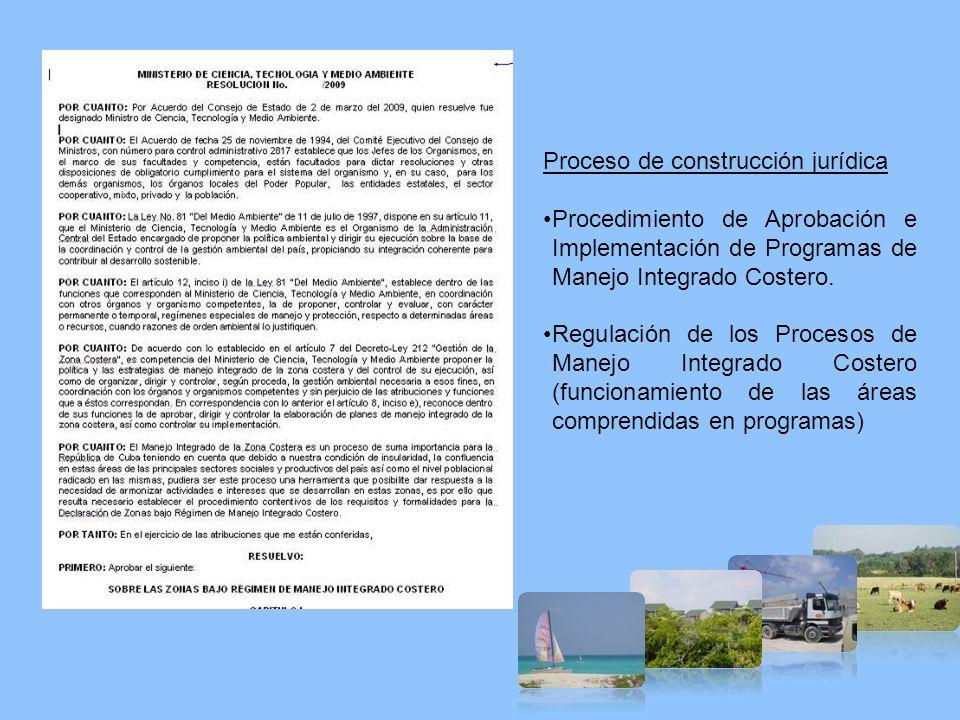 Proceso de construcción jurídica