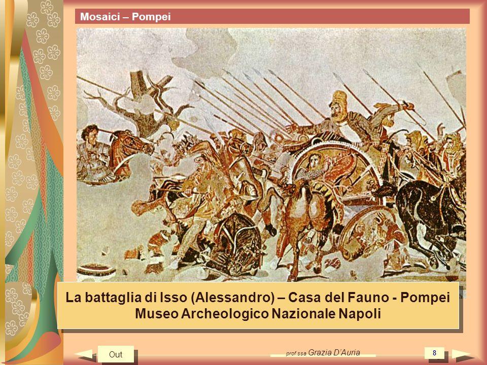 La battaglia di Isso (Alessandro) – Casa del Fauno - Pompei