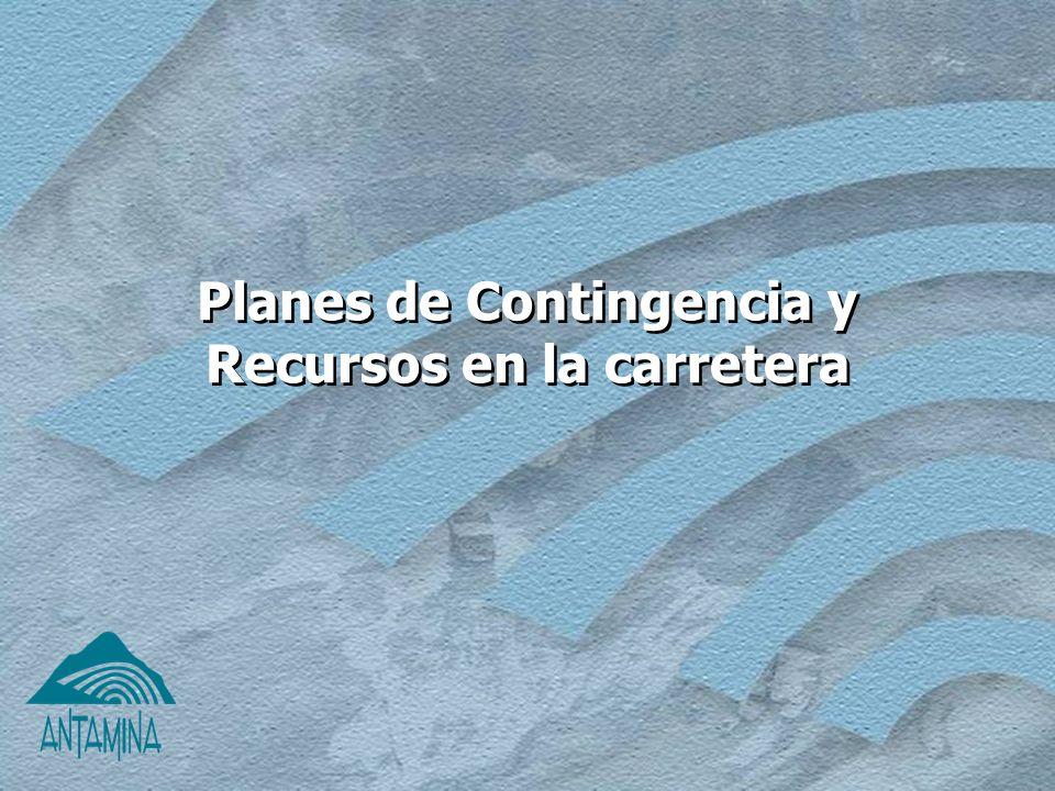 Planes de Contingencia y Recursos en la carretera