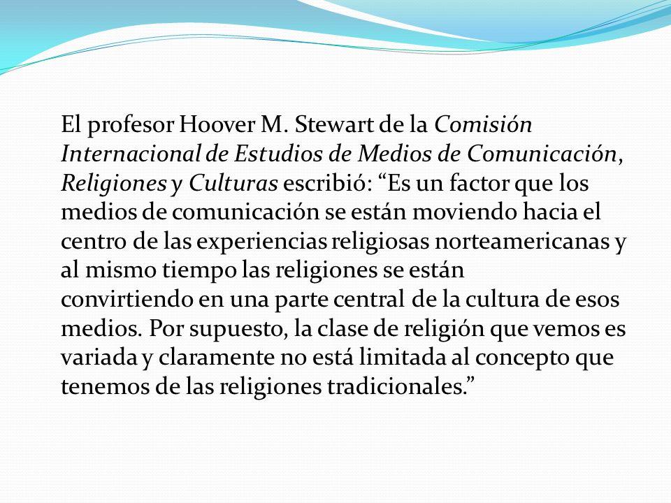 El profesor Hoover M.