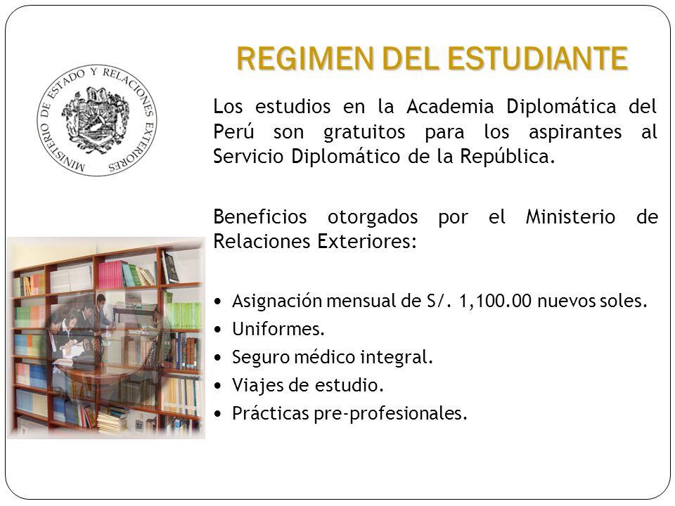 REGIMEN DEL ESTUDIANTE