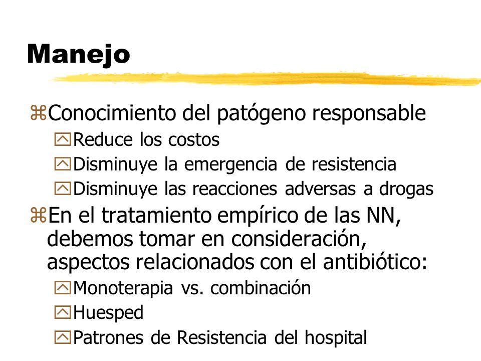 Manejo Conocimiento del patógeno responsable