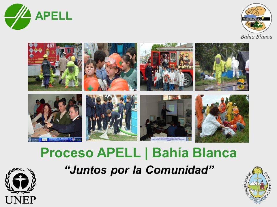 Proceso APELL | Bahía Blanca Juntos por la Comunidad