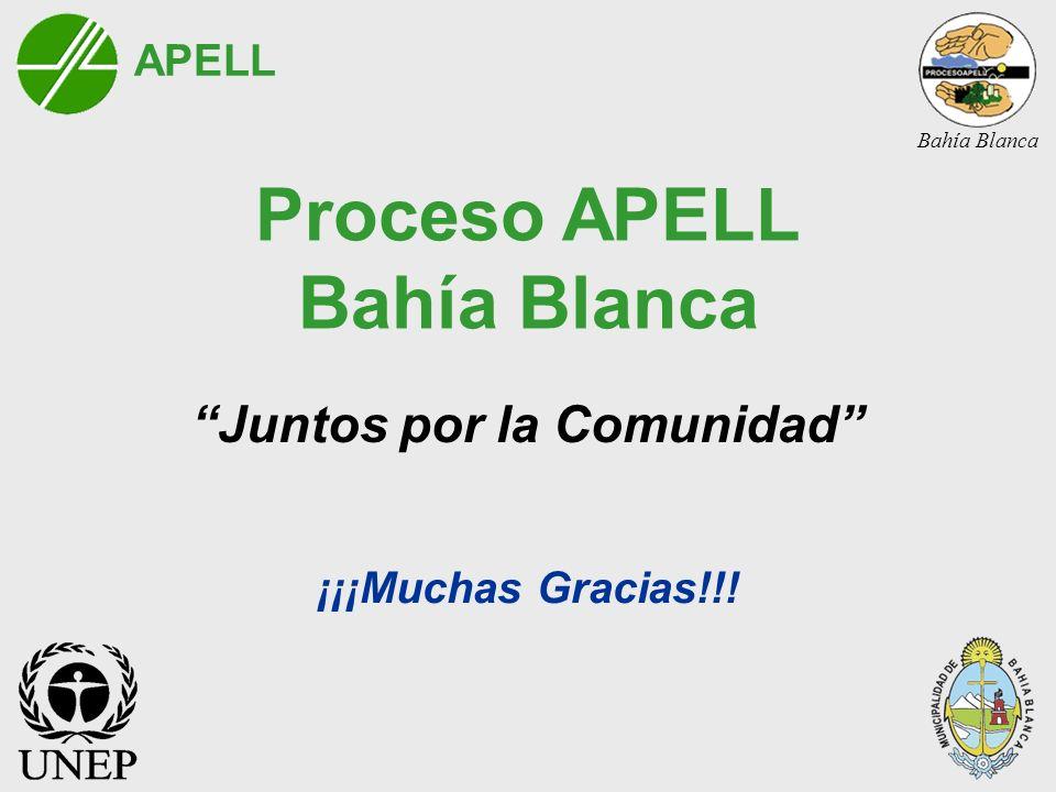 Proceso APELL Bahía Blanca Juntos por la Comunidad