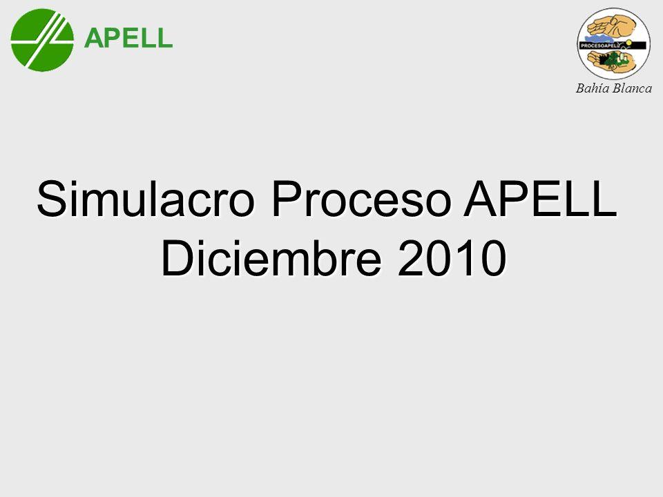 Simulacro Proceso APELL Diciembre 2010