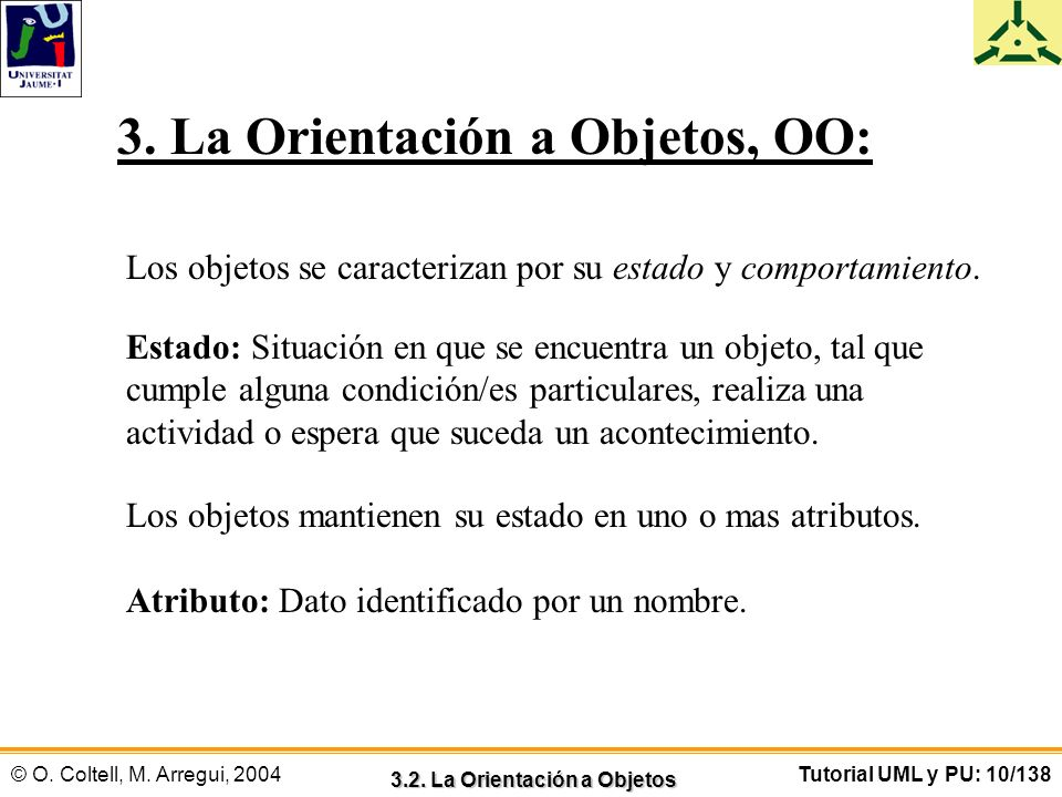 3.2. La Orientación a Objetos