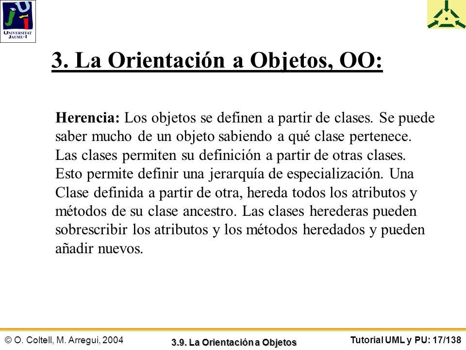 3.9. La Orientación a Objetos