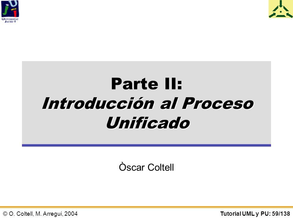 Parte II: Introducción al Proceso Unificado