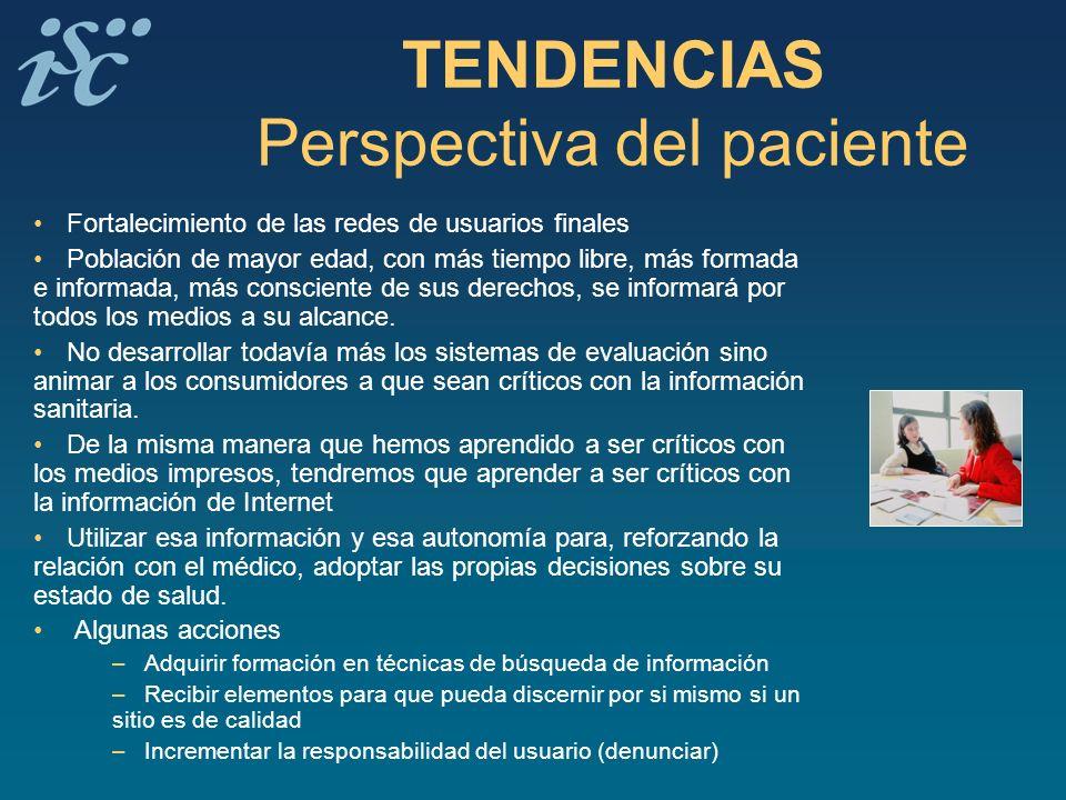 TENDENCIAS Perspectiva del paciente