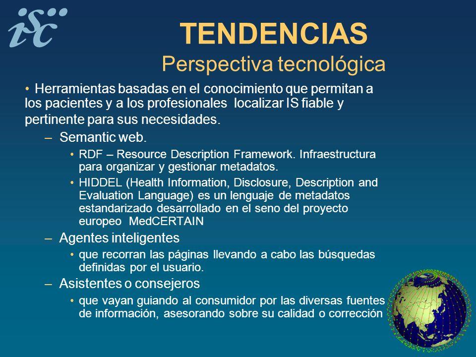 TENDENCIAS Perspectiva tecnológica