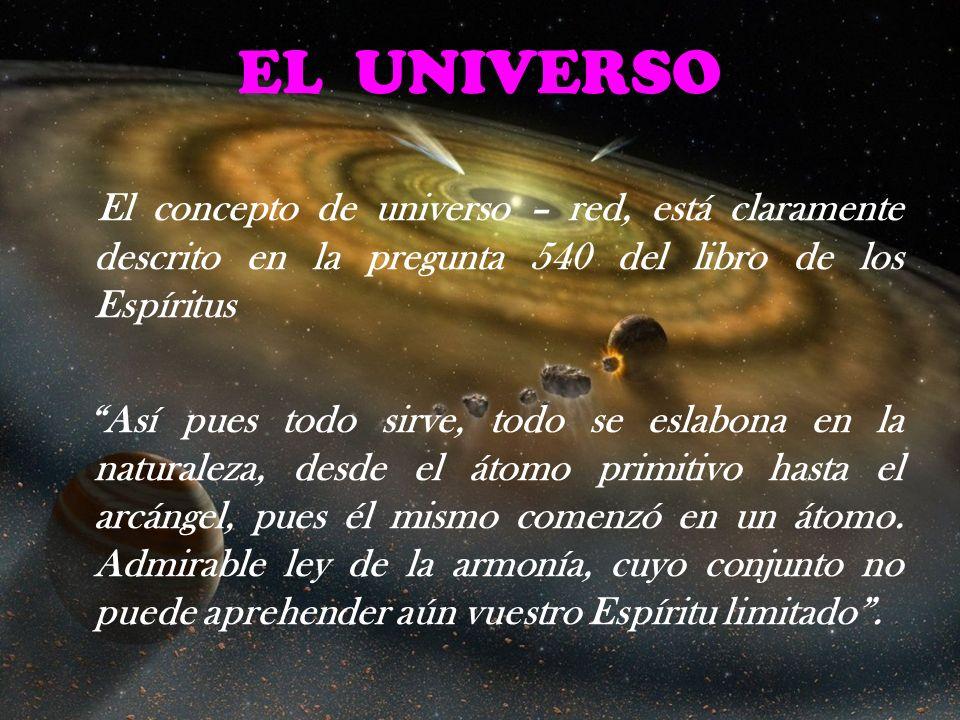 EL UNIVERSOEl concepto de universo – red, está claramente descrito en la pregunta 540 del libro de los Espíritus.