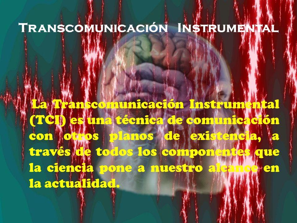 Transcomunicación Instrumental