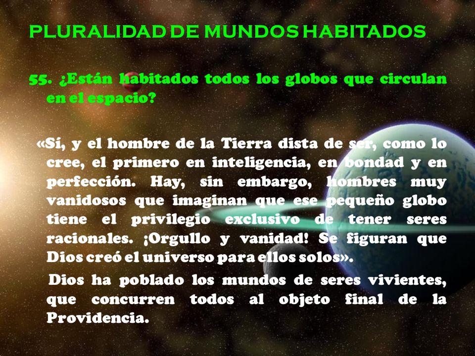 PLURALIDAD DE MUNDOS HABITADOS