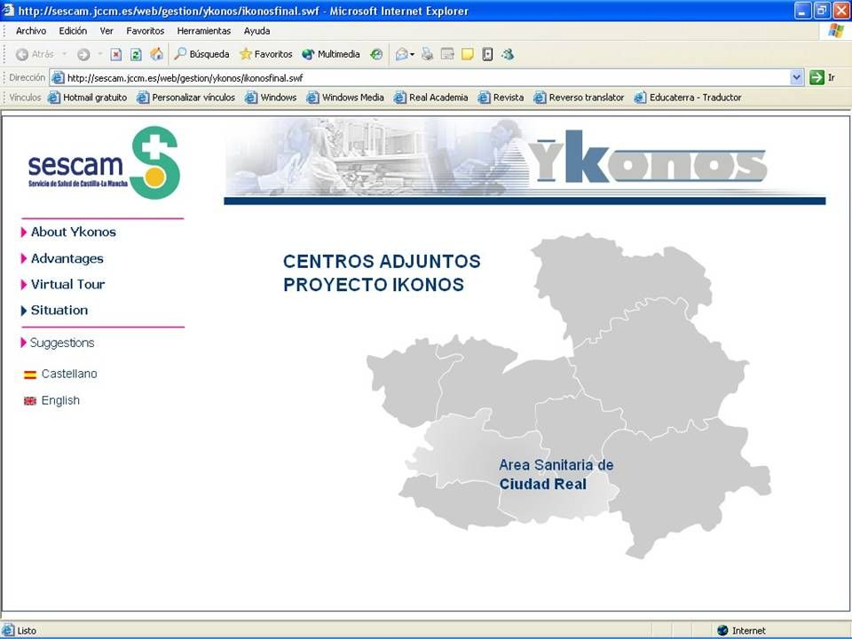 A project for Castilla-La Mancha Health Service