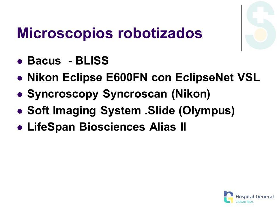 Microscopios robotizados